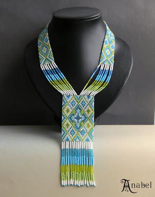 купить современный гердан из бисера ручной работы в интернет магазине авторских изделий из бисер