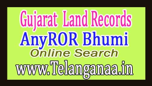 Gujarat AnyROR Bhumi Jankari Land Records Online Search