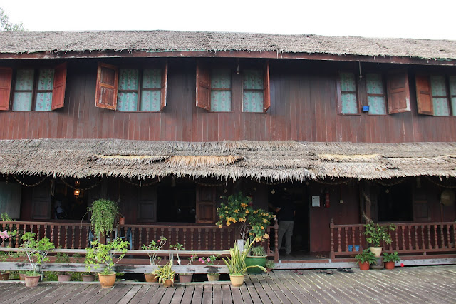 Lamin Dana, Hostel sekaligus Musium Mini Suku Melanau