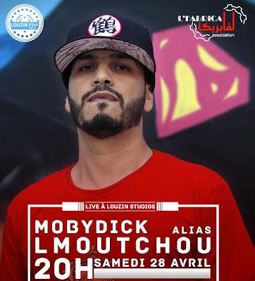 Concert de LMoutchou Alias,  Mobydick à l'espace culturel et artistique Louzin de Casablanca