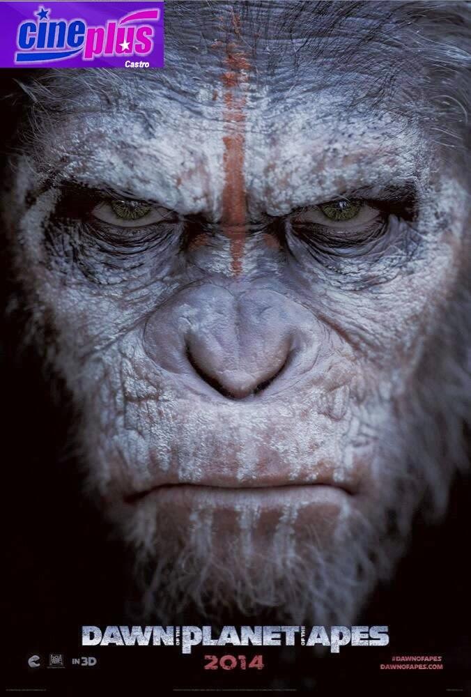 Programação do Cine Plus em Castro, Horário do Filme Planeta dos Macacos no Condor