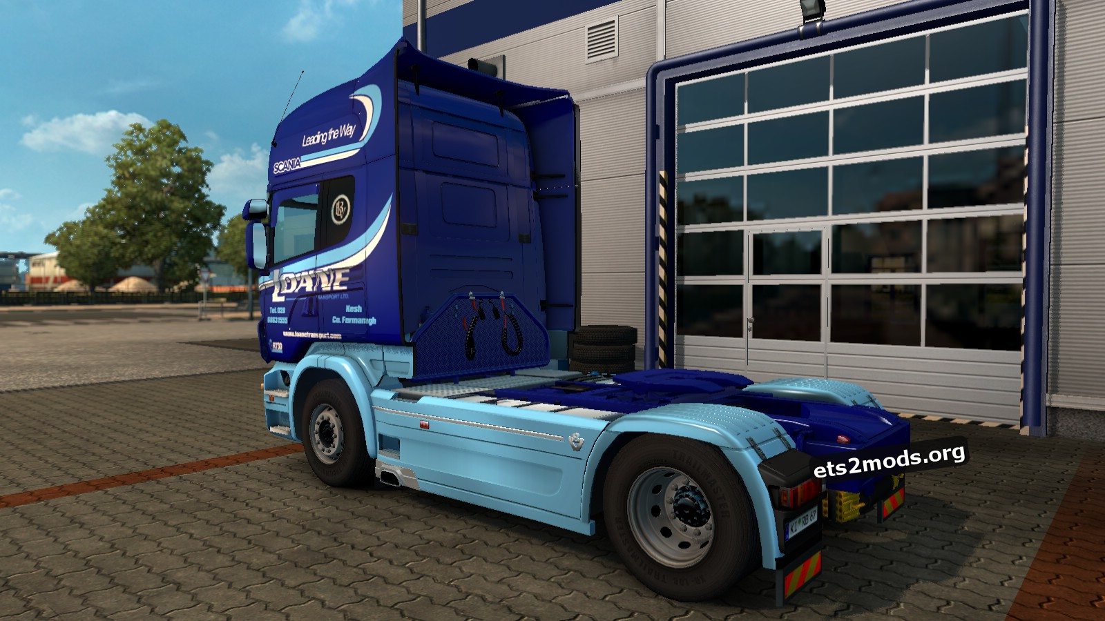 Loane Transport (Ireland) Skin for Scania RJL