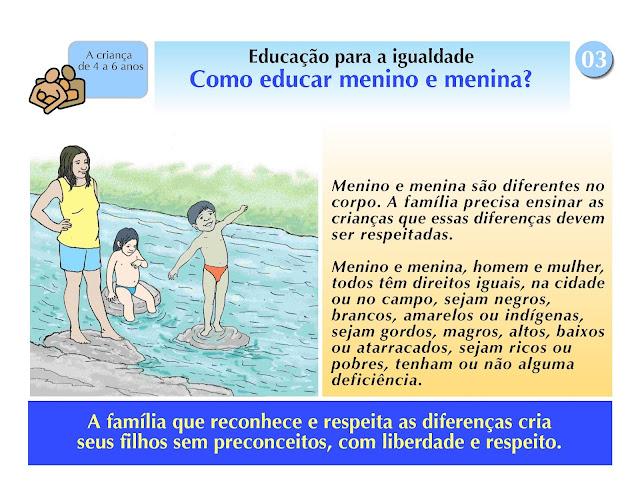 Como educar menino e menina?