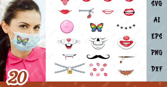 20 Funny Designs For Face Mask
