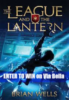 The League and the Lantern, Book Review, Enter to Win, Giveaway, Fly By Promotions, Brian Wells, Kids Books, School, Educational, Homeschool, Review by Kids, Via Bella