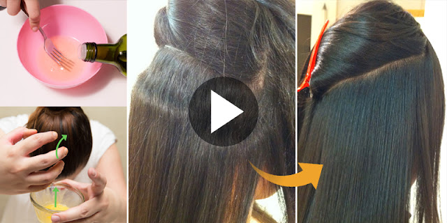 5 Minute DIY - How To Get Straight Hair At Home!