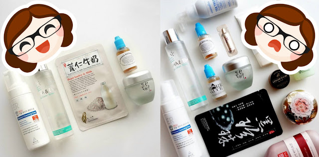 Basic Korean Skincare Routine & Complex Routine