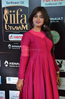 Monal Gajjar in Maroon Gown Stunning Cute Beauty at IIFA Utsavam Awards 2017 029.JPG