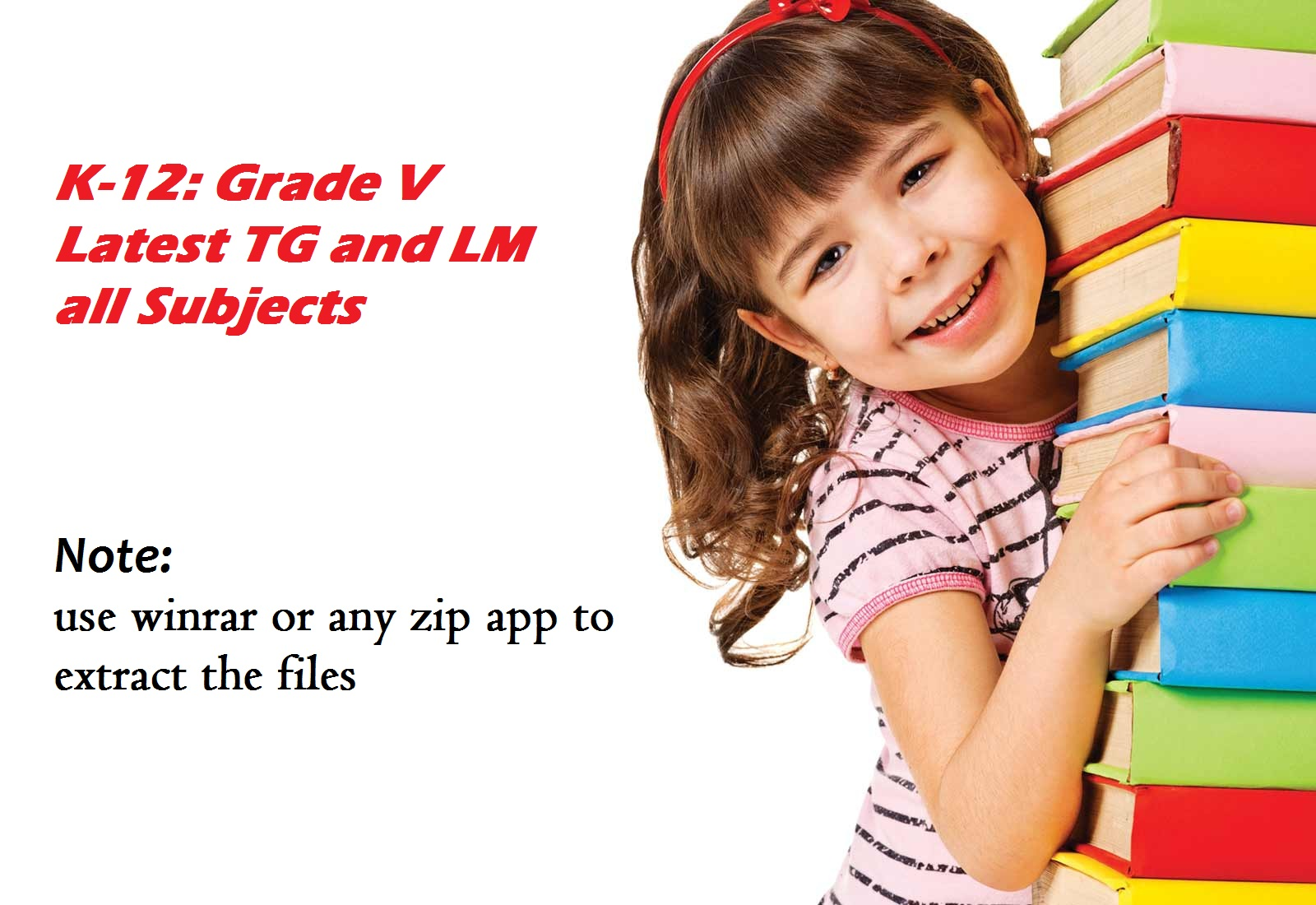 tagadepedfiles: Complete TG and LM for Grade V