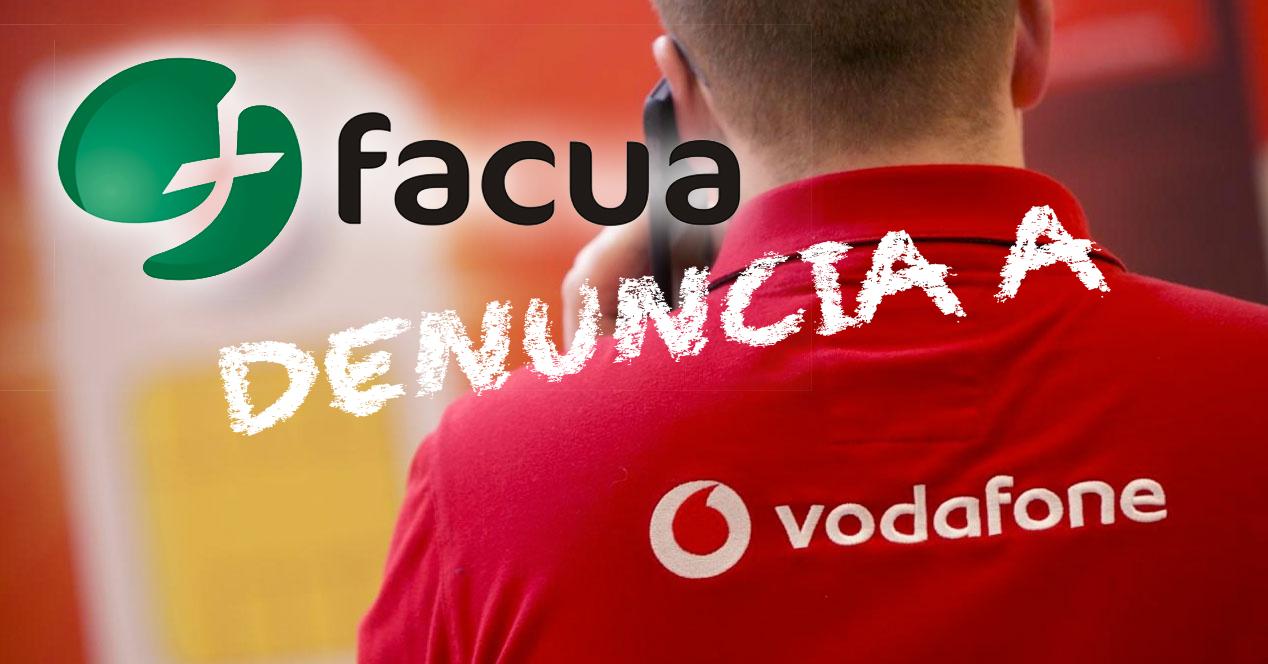 Facua Vodafone