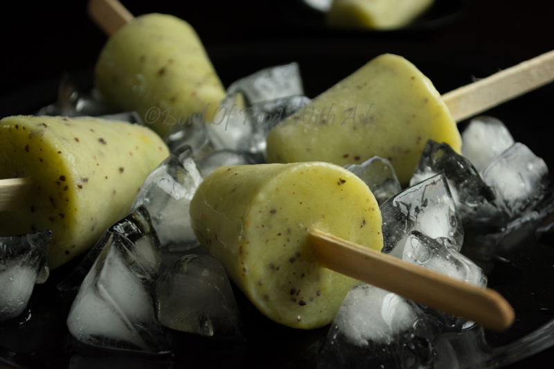 Kiwi Yogurt Popsicle Recipe | How To Make Chocolate Dipped Kiwi Yogurt Popsicle