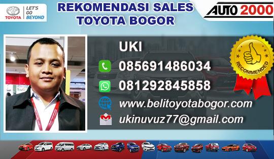 Rekomendasi Sales Toyota Auto 2000 Dramaga Bogor