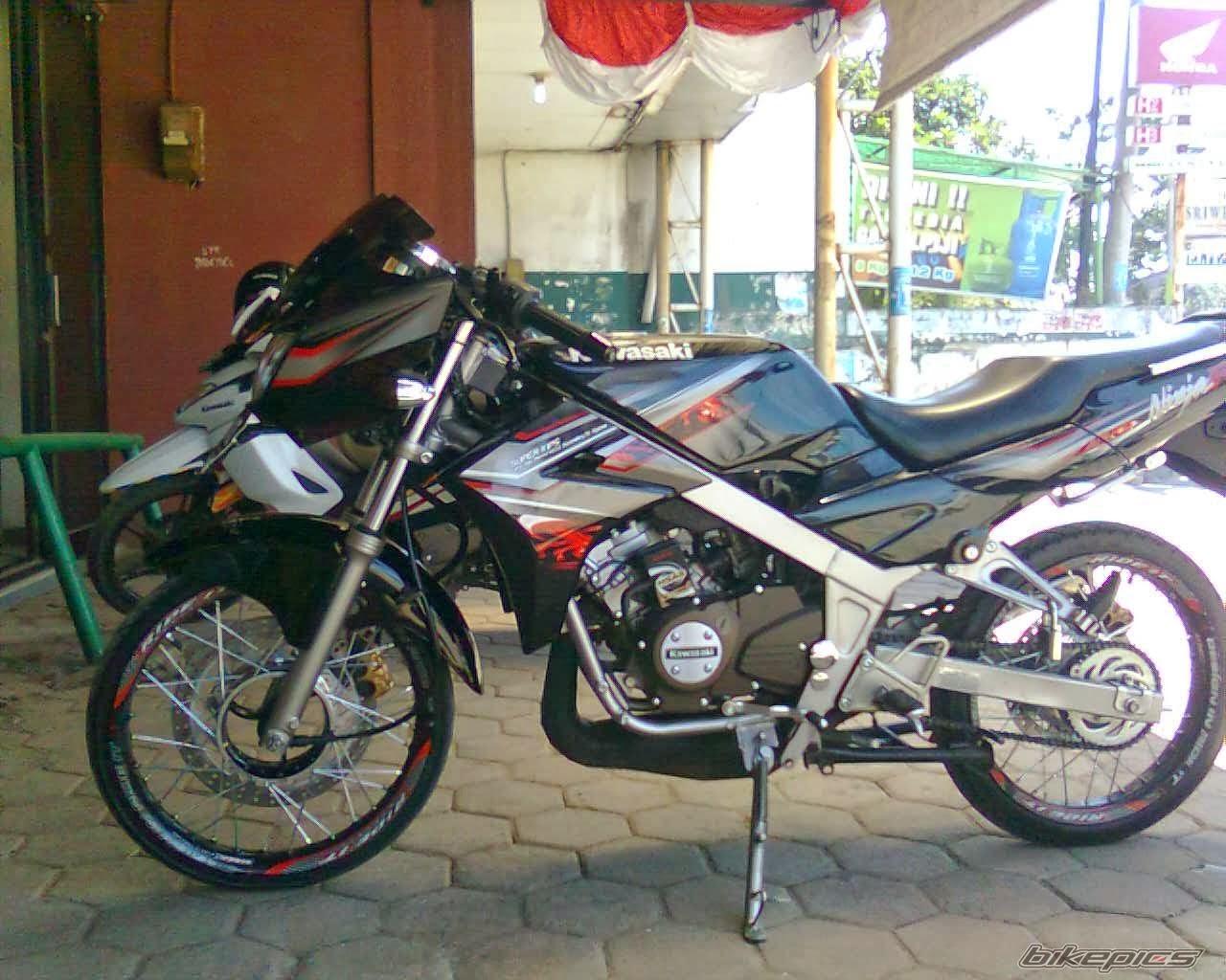 Koleksi 71 Modifikasi Motor Ninja Ss Airbrush Terupdate Teka