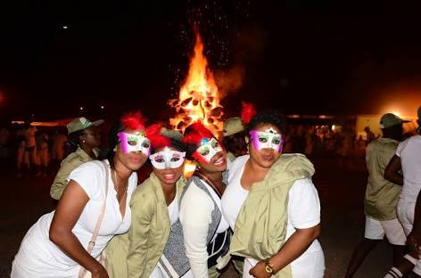 Image result for nysc camp fire night
