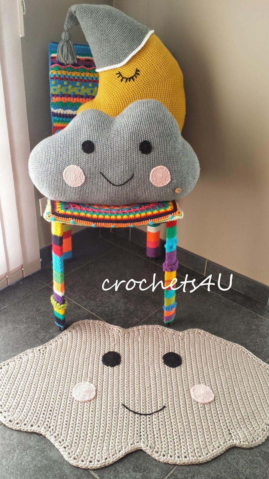 Crochets4u Wolk Tapijt Haken