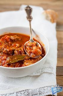 Cielęcina w pomidorach