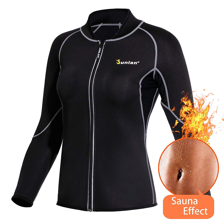 9a44282acb Women Hot Sweat Weight Loss Shirt Neoprene Body Shaper - Online ...