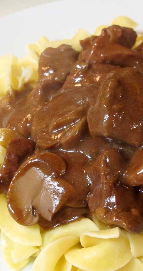Comfort food at its very best! Crockpot Beef Tips & Gravy is the perfect meal to deliver homemade flavors with the ease of a slow cooker.