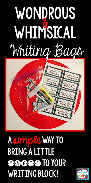 Read to find out how I use writing bags to motivate my students!