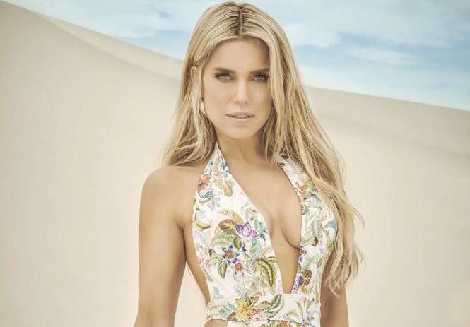Ngắm Sylvie Meis - vợ cũ của Van der Vaart đẹp hút hồn với bikini