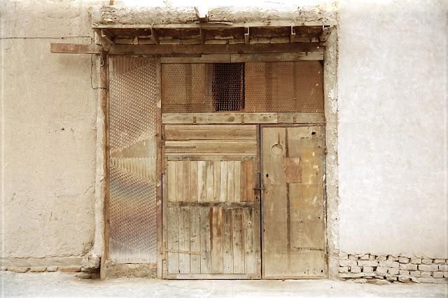 Ouzbékistan, Khiva, porte, © L. Gigout, 2012