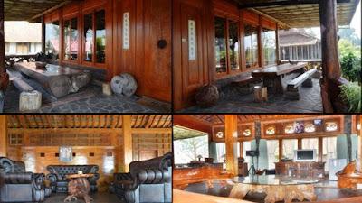 Rumah Kayu Organic Lembang Jawa Barat