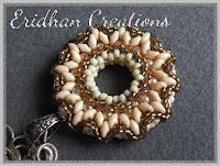beaded donut pendant pattern