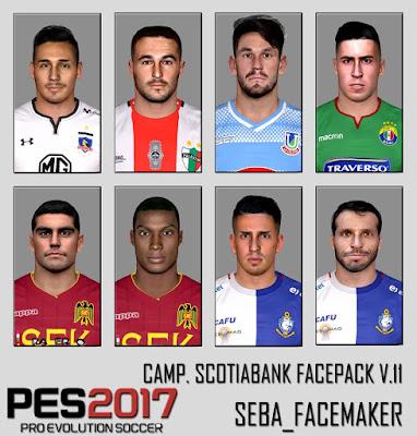 PES 2017 Facepack v.11 by Seba_Facemaker