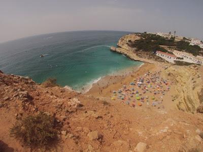 praia de Benagil - Plage de Benagil - Algarve