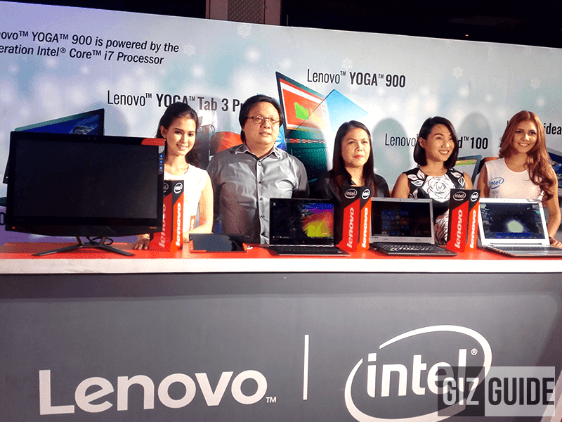 Lenovo Yoga Tab 3 Pro, Yoga 900, Ideapad 500 And Ideapad 100 Launched In The Philippines!