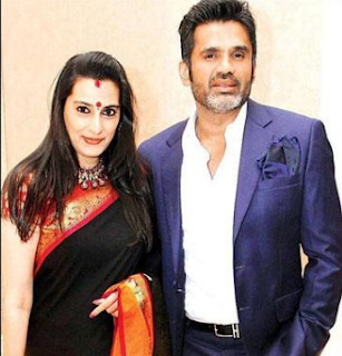 Suniel Shetty Family Wife Son Daughter Father Mother Marriage Photos Biography Profile