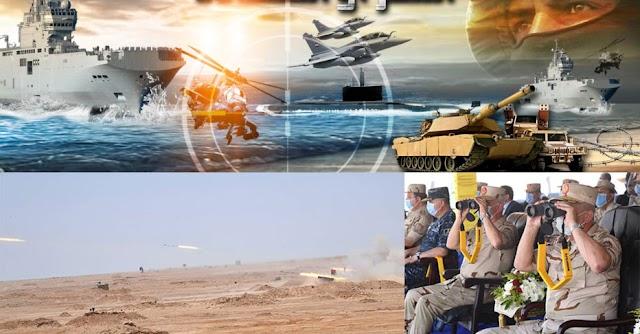 Μεγάλη αεροναυτική-χερσαία άσκηση από Αίγυπτο στα σύνορα Λιβύης ως απάντηση στην άσκηση Τουρκίας (ΦΩΤΟ-ΒΙΝΤΕΟ)