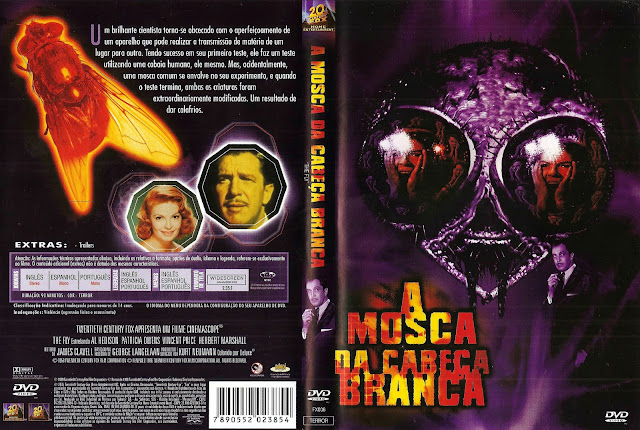 Capa DVD A Mosca da Cabeça Branca