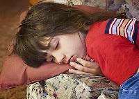hija dormida