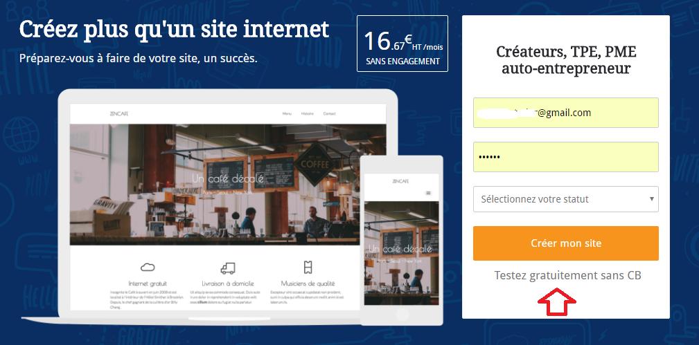 Créer un site internet pro gratuitement et sans code
