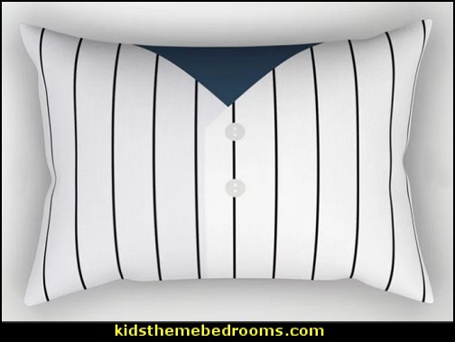 Baseball NY Yankees Rectangular Pillow baseball bedding baseball bedrooms