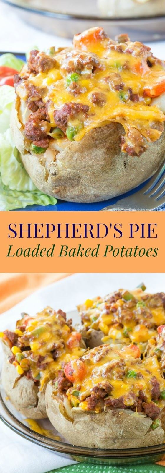 Shepherd's Pie Loaded Baked Potatoes Recipe