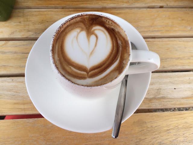 Coffee at Four Espresso Cafe Port Macquarie