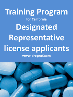 California Designated Representative Training Programs. Approved by the California State Board of Pharmacy.