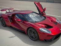 2005 Ford GT Top Speed