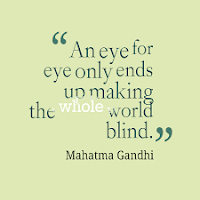 gandhi peace quotes