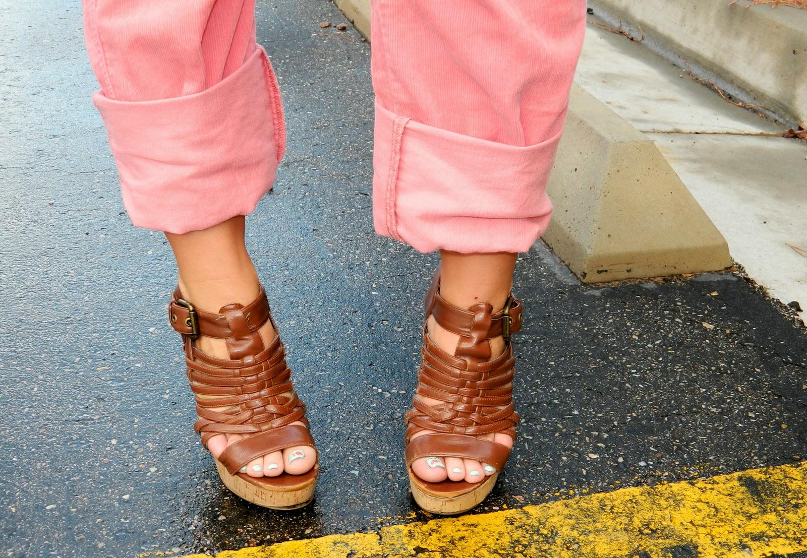 brown heels, strap heels