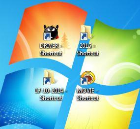Cara Menghapus Virus Shortcut pada windows 8