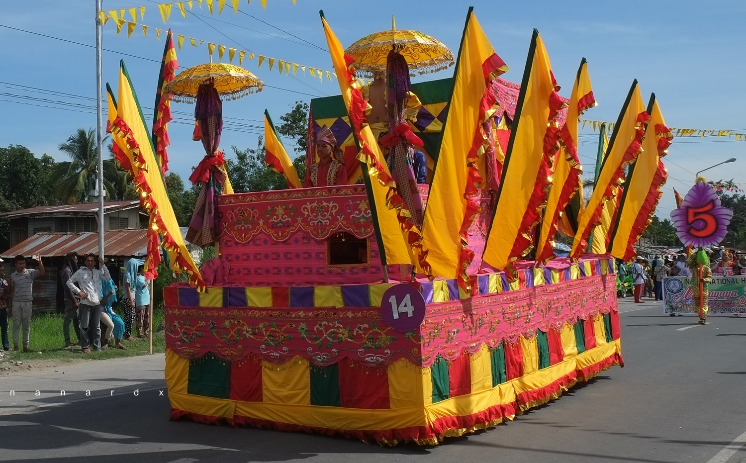 Inaul Festival Float Parade, An Amazing Display of Artistry and Culture