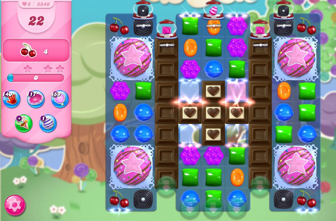 Candy Crush Saga level 5549