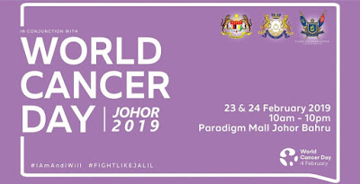 World Cancer Day Johor 2019