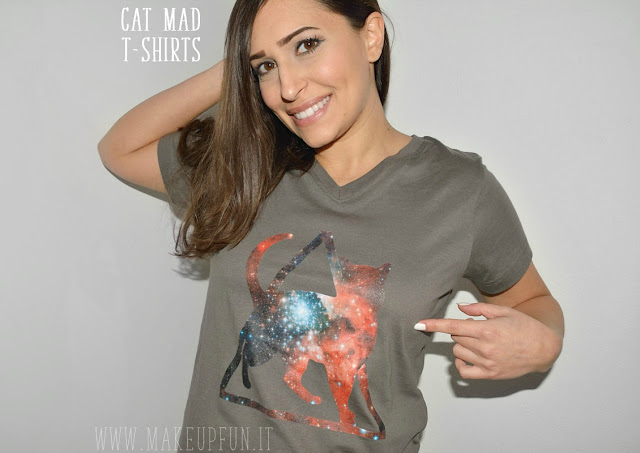 Cat Mad - Shirts for Cat Lovers MakeUp Fun