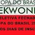 SELETIVA FECHADA PARA A COPA DO BRASIL 2017 INSCRIÇÕES ATÉ DOMINGO 22/10/2017
