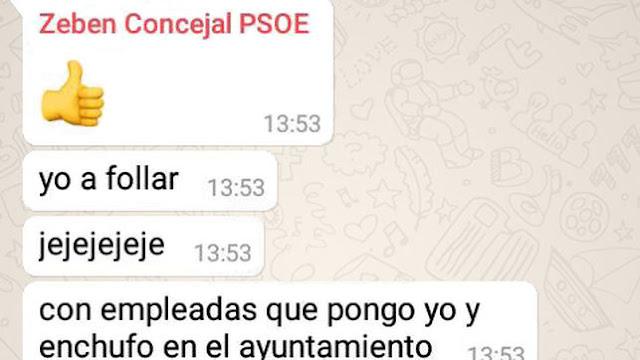 """Un concejal del PSOE en La Laguna: """"Yo, a follar con empleadas que enchufo en el Ayuntamiento"""""""
