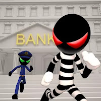 Stickman Bank Robbery Escape Apk Download Mod
